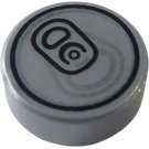 LEGO Round Tile 1 x 1 with Soda Can Top Decoration (21610 / 98138)