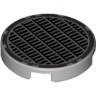 """LEGO Round Tile 2 x 2 with Vent Design with """"X"""" Bottom (49039)"""
