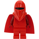 LEGO Royal Guard with Dark Red Arms and Hands Minifigure (Standard Cape)