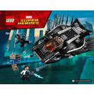 LEGO Royal Talon Fighter Attack Set 76100 Instructions