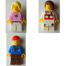 LEGO Saarbrücken, Germany, Exclusive Minifigure Pack Set SAARBRUCKEN-2