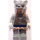 LEGO Saber Tooth Tiger Tribe Warrior with Armor Mask Minifigure