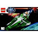 LEGO Saesee Tiin's Jedi Starfighter Set 9498 Instructions