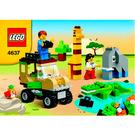 LEGO Safari Building Set 4637 Instructions