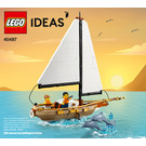 LEGO Sailboat Adventure Set 40487 Instructions