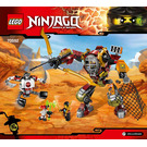 LEGO Salvage M.E.C Set 70592 Instructions