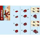 LEGO Sam-X Set 30533 Instructions