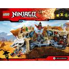 LEGO Samurai X Cave Chaos Set 70596 Instructions