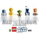 LEGO San Diego Comic Con 2010 Exclusive - CubeDude - The Clone Wars Edition Set COMCON012