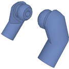 LEGO Sand Blue Minifigure Arms (Left and Right Pair)