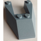 LEGO Sand Blue Wedge 6 x 4 Cutout without Stud Notches (6153)