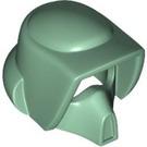 LEGO Sand Green Biker Scout Helmet (30369)