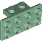 LEGO Sand Green Bracket 1 x 2 - 2 x 4 (21731 / 93274)