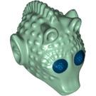 LEGO Sand Green Greedo Head (18013 / 36936)