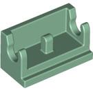 LEGO Sand Green Hinge 1 x 2 Base (3937)