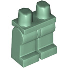LEGO Sand Green Minifigure Hips and Legs (73200 / 88584)