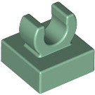 """LEGO Tile 1 x 1 with Clip (Raised """"C"""") (15712 / 44842)"""