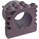 LEGO Sand Purple Brick 1 x 4 x 3 with tube (30585)