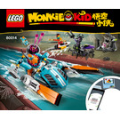 LEGO Sandy's Speedboat Set 80014 Instructions
