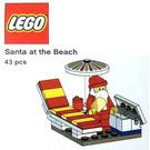 LEGO Santa at the Beach Set TRUSANTA