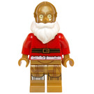 LEGO Santa C-3PO Minifigure