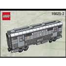 LEGO Santa Fe Cars - Set I 10025 Instructions