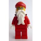 LEGO Santa, Glasses, D-Basket Minifigure