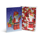 LEGO Santa Holiday Cards (852133)