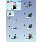 LEGO Santa on Skis Set 1128 Instructions