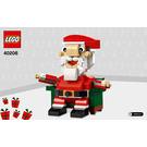 LEGO Santa Set 40206 Instructions