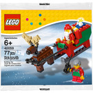 LEGO Santa Sleigh Set 40059 Packaging