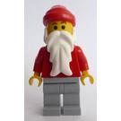 LEGO Santa with Gray Legs Minifigure