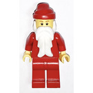 LEGO Santa with Plain Red Outfit Minifigure