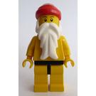 LEGO Santa with Yellow Torso, Yellow Legs and Black Hips Minifigure