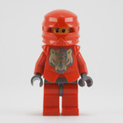LEGO Santis with Golden Bear Head Pattern and Dark Stone Hands Minifigure