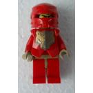 LEGO Santis with Golden Bear Head Pattern and Dark Tan hands Minifigure