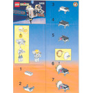 LEGO Satellite with Astronaut Set 6458 Instructions