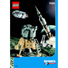 LEGO Saturn V Moon Mission Set 7468 Instructions