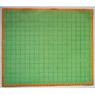 LEGO Scala Baseplate Paper with Green Square Tiles for Set 3243 (71478)