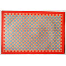 LEGO Scala Baseplate Paper with Light Blue and Pink Squares for Set 3241