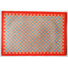 LEGO Scala Baseplate Paper with Light Blue and Pink Squares for Set 3241 (71480)