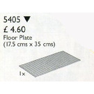 LEGO Scala Floor Plate 17.5 x 35 cm Set 5405