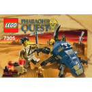 LEGO Scarab Attack Set 7305 Instructions