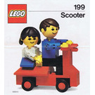 LEGO Scooter Set 199 Instructions
