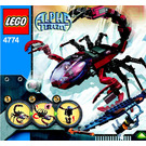 LEGO Scorpion Orb Launcher Set 4774 Instructions