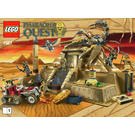LEGO Scorpion Pyramid Set 7327 Instructions