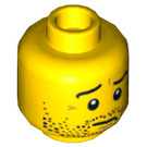LEGO Scout Head (Recessed Solid Stud) (3626 / 74310)