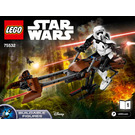 LEGO Scout Trooper & Speeder Bike Set 75532 Instructions