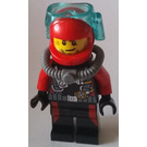 LEGO Scuba Diver, Male without Flippers Minifigure