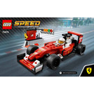 LEGO Scuderia Ferrari SF16-H Set 75879 Instructions
